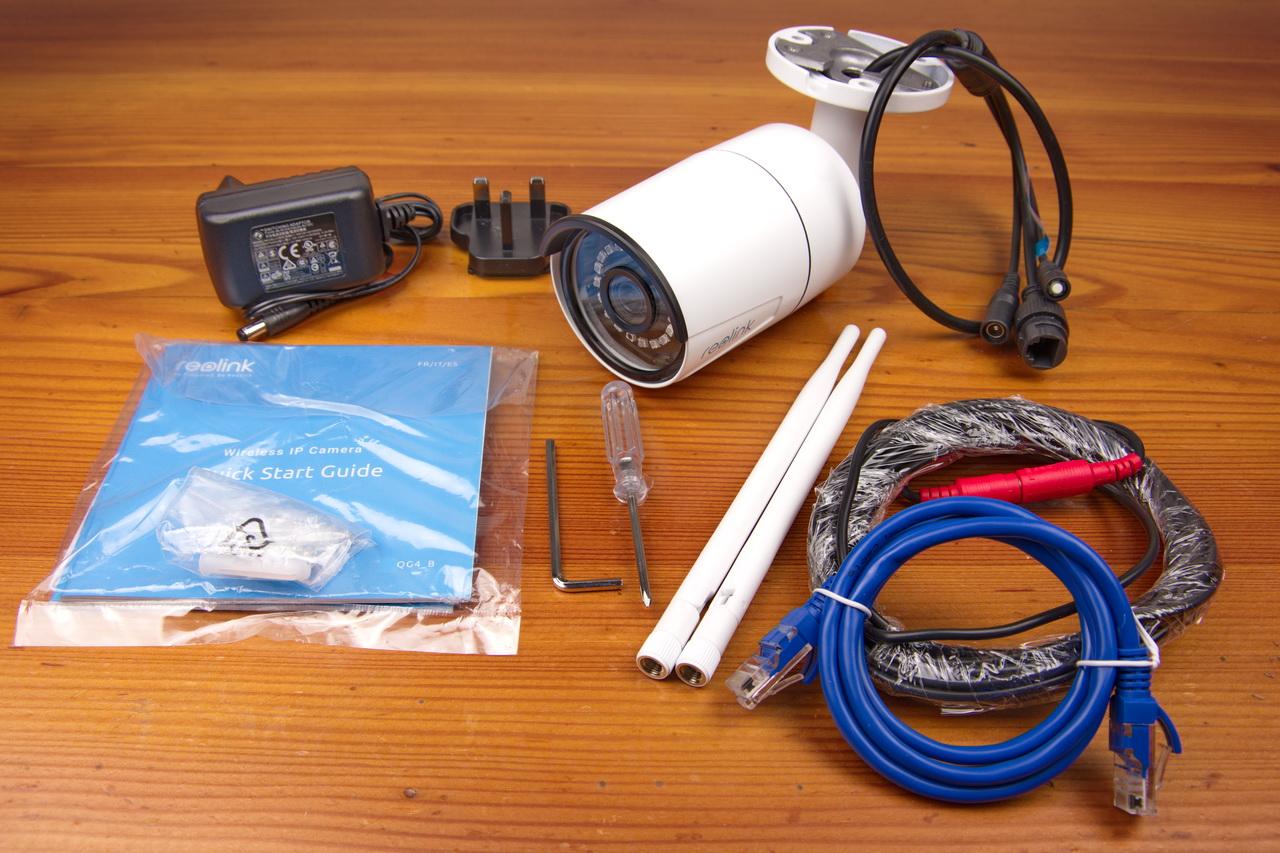Reolink RLC-410W-5MP: telecamera medio gamma di qualità